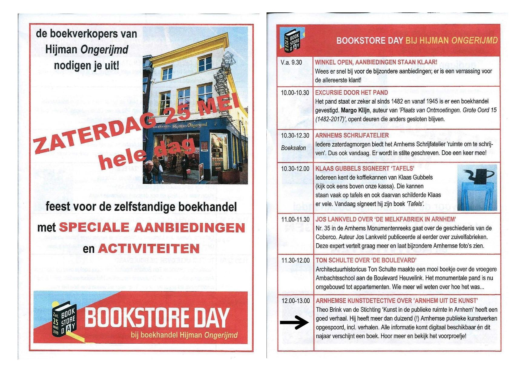 Bookstore Day 2019